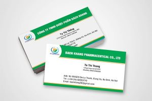 In danh thiếp, Name card
