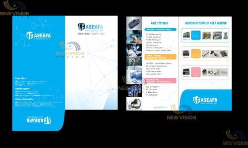 Thiết kế và in kẹp tài liệu độc đáo