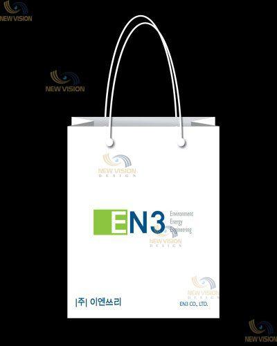 Hình ảnh thương hiệu nổi bật trên từng mẫu thiết kế túi giấy